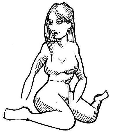 Etudes et croquis diverts et variés... Sitting_woman_001